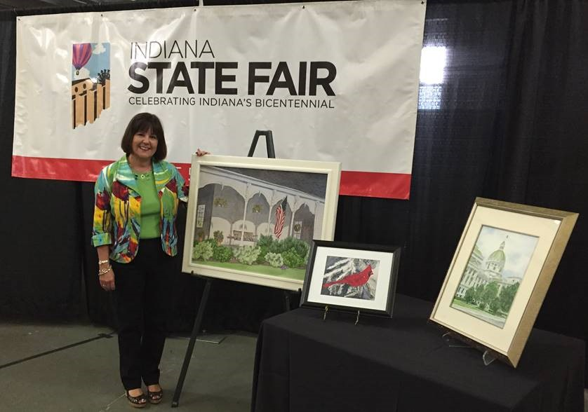 Indiana state fair home and family arts building