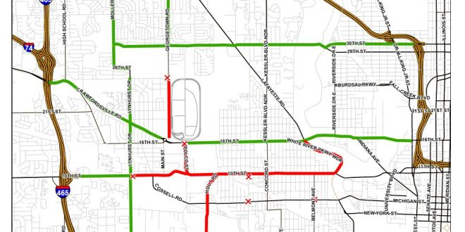 Impd Announces Indy 500 Race Day Traffic Patterns Wyrz Org