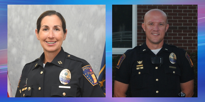 Plainfield Police Chief appoints Lees and Prewitt as Deputy